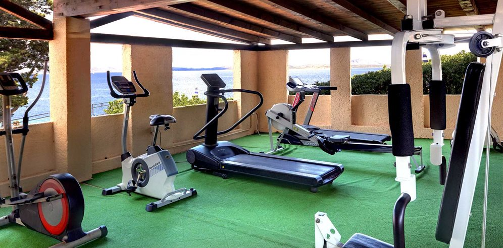 Fitness Area - Grand Hotel Smeraldo Beach