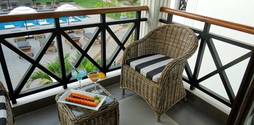 Deluxe Room Balcony, Andores Resort & Spa, Calangute, North Goa