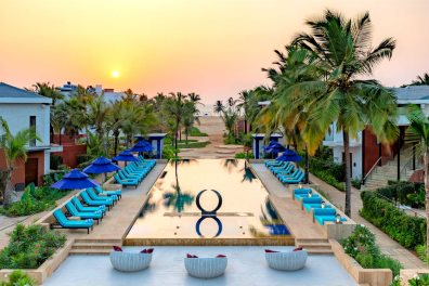 Azaya Beach Resort, Benaulim, South Goa