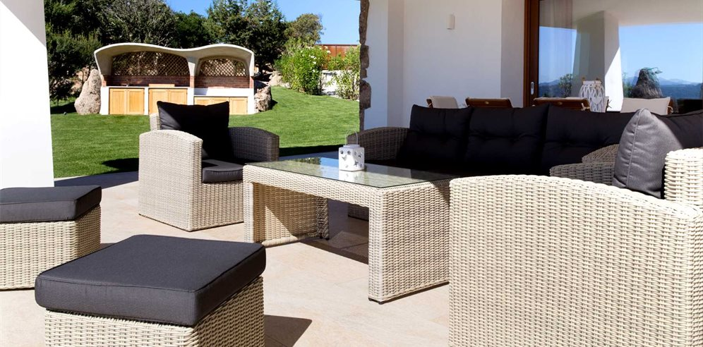 Comfortable and Chic Terrace area of Villa Pietra Bianca