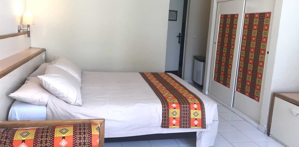 Standard room at Kombo Beach Hotel, Kotu, the Gambia