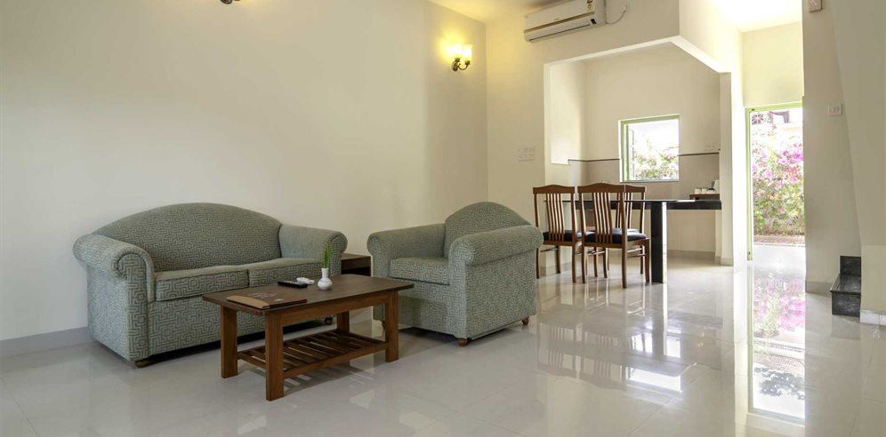 Villa Lounge Area, Nanu Beach Resort