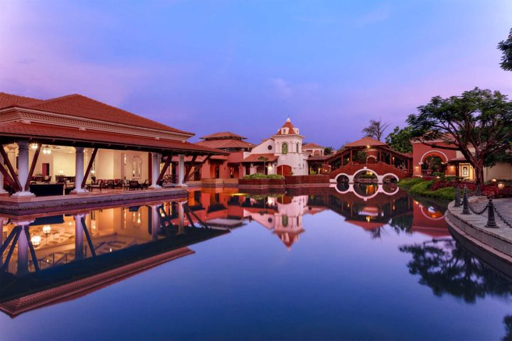For the ultimate in pampering spend a day at the Park Hyatt's spa during yout South Goa tour.