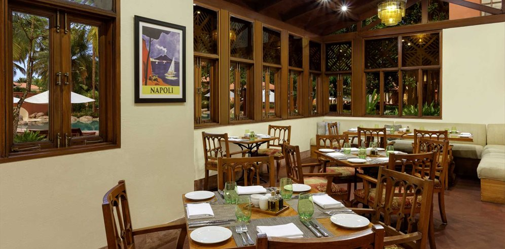 Ottimo Cucina Italiana Restaurant at ITC Grand, Arossim, South Goa