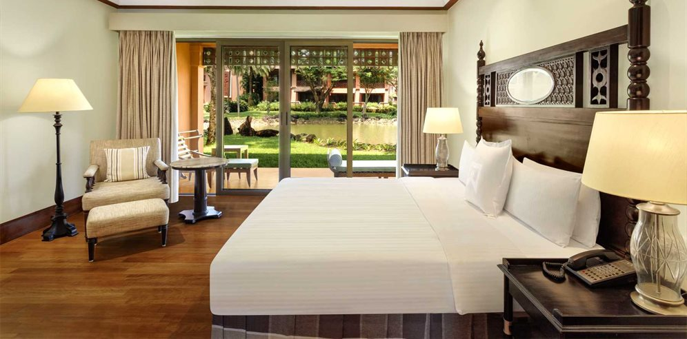 Lagoon View Room at ITC Grand Goa, Arossim, South Goa