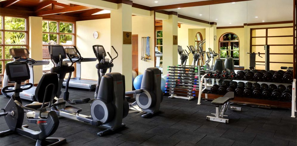 Gym at ITC Grand, Arossim, South Goa
