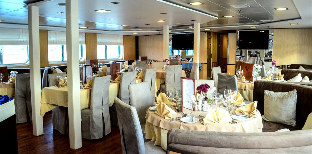 Rivers of West Africa cruise on Mega Yacht Harmony V