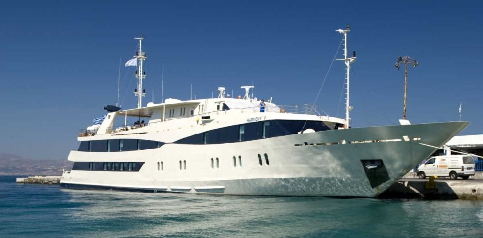 Harmony V Mega Yacht - Rivers of West Africa Cruise