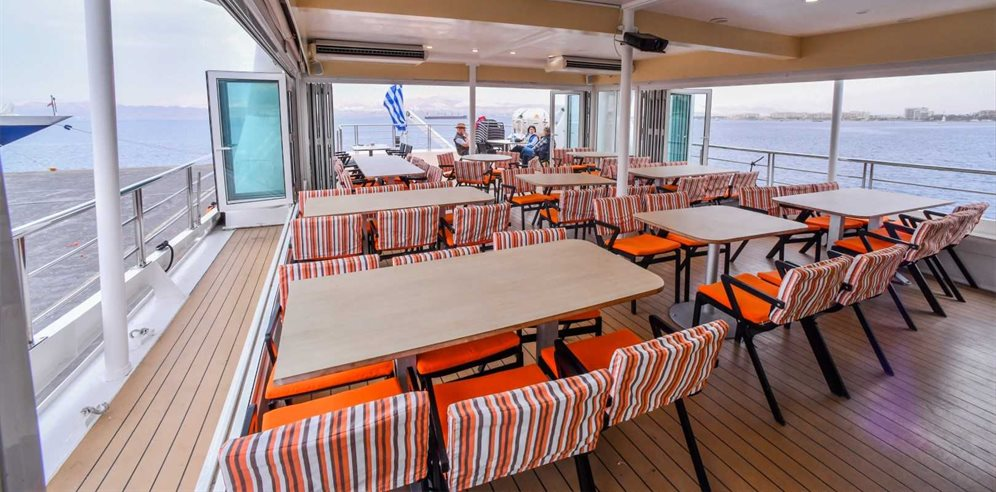 Upper Deck Dining Lounge