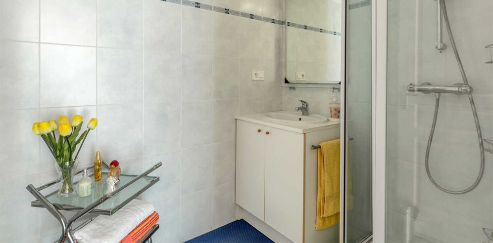 Shower room at Apartment Santore