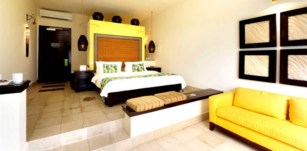Superior sea view room at Coral Beach Resort & Spa, Brufut, The Gambia