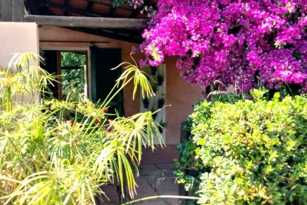 Colourful outdoors in Villetta Larabella, at Villas Santa Caterina