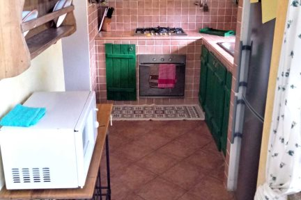 Kitchen in Villetta Lalinda, at Villas Santa Caterina