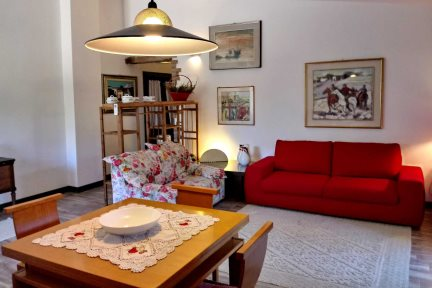 Living Area, Casina Dolinda - Villas Santa Caterina