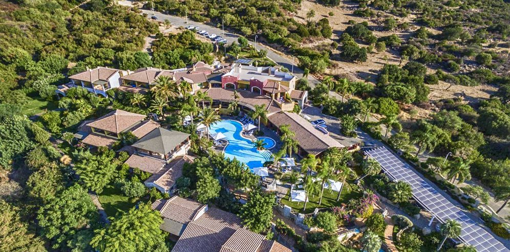 Aerial View - Cruccuris Resort