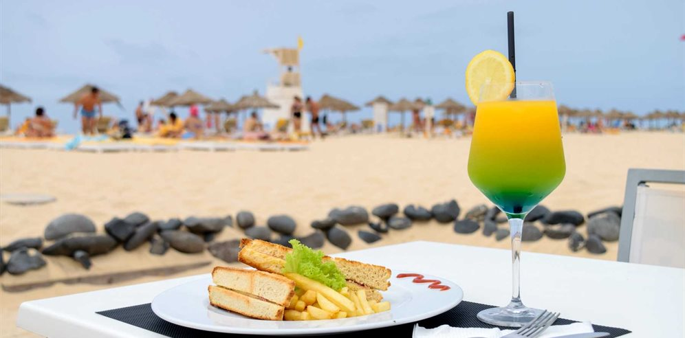 Beach bar, Oasis Belorizonte, Sal, Cape Verde
