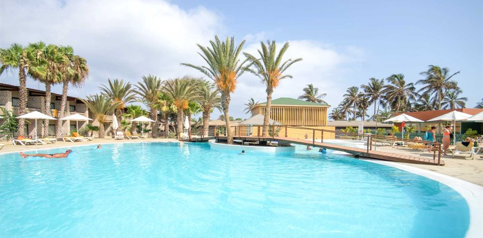 Pool area, Oasis Belorizonte, Sal, Cape Verde