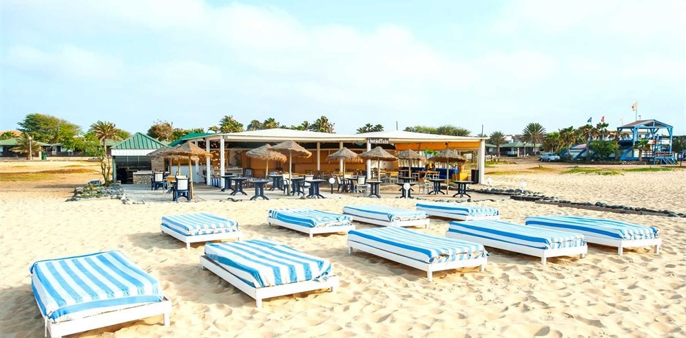 Beach area, Oasis Belorizonte, Sal, Cape Verde
