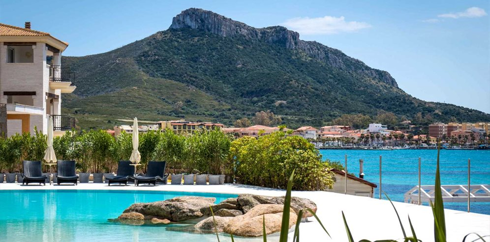 Pool and Views - Gabbiano Azzurro Hotel & Suites