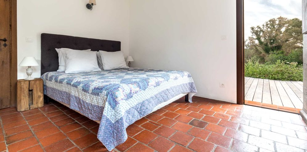 Double bedroom at Casa di Pruno