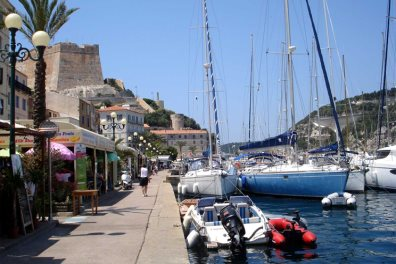 Bonifacio Harbour
