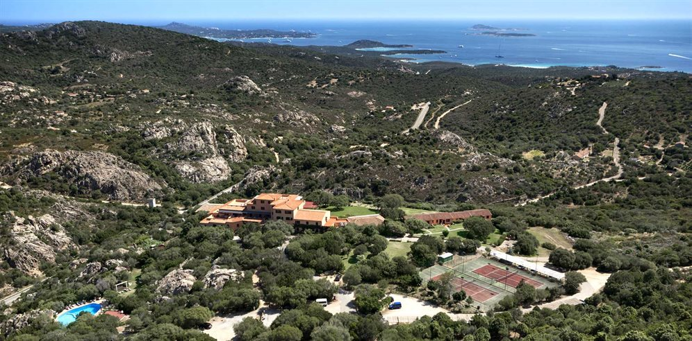 Aerial View - Hotel Rocce Sarde