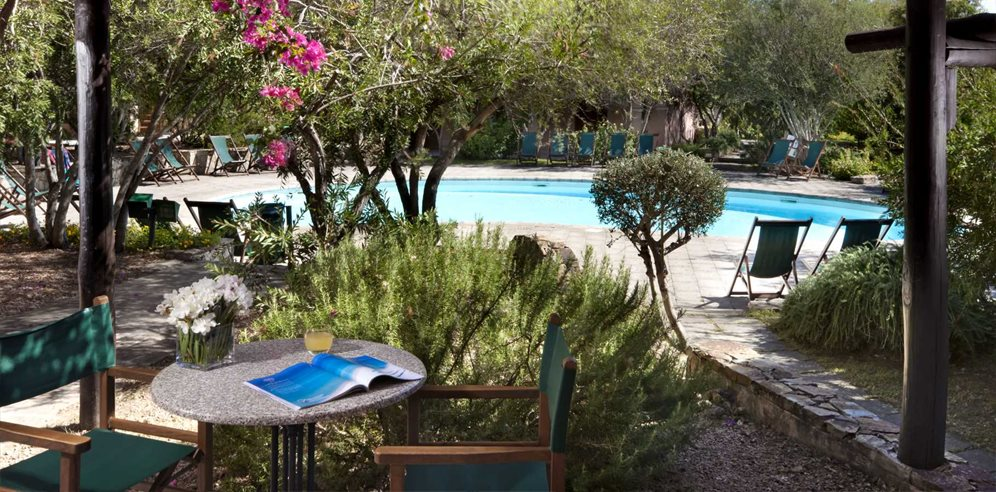 Terrace and Pool - Residence Cala Di Falco