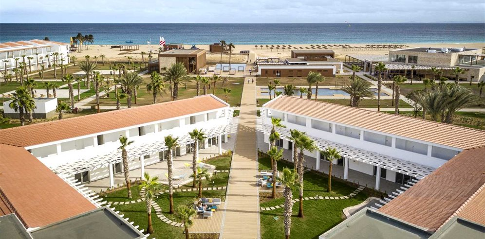 Aerial Garden View, Robinson Club Cabo Verde, Sal in Cape Verde