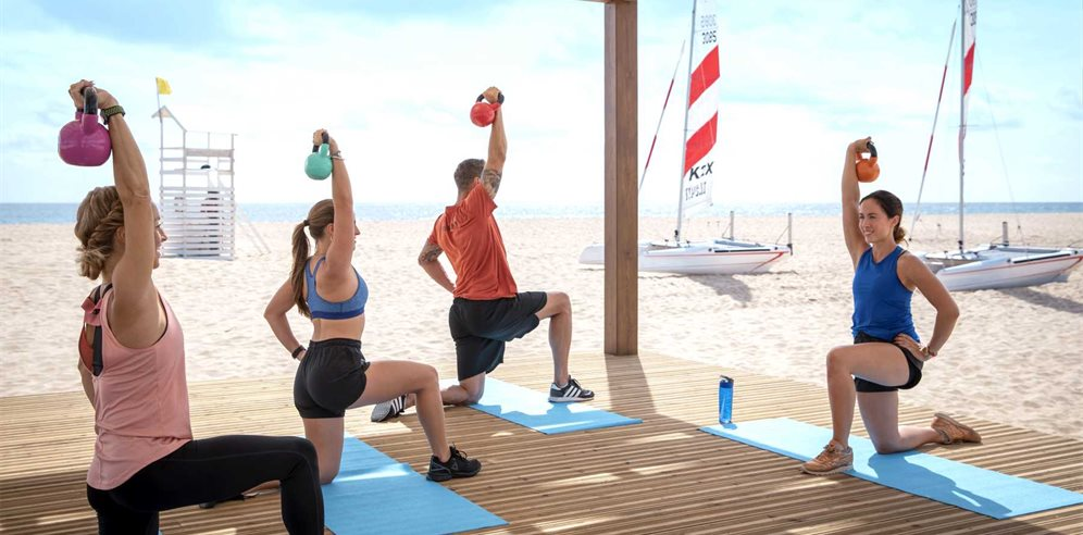 Exercise Class, Robinson Club Cabo Verde, Sal in Cape Verde