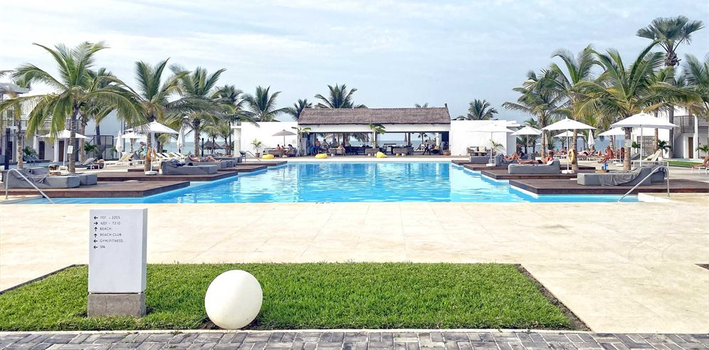 Pool at Tamala Beach Hotel, South Kotu - The Gambia